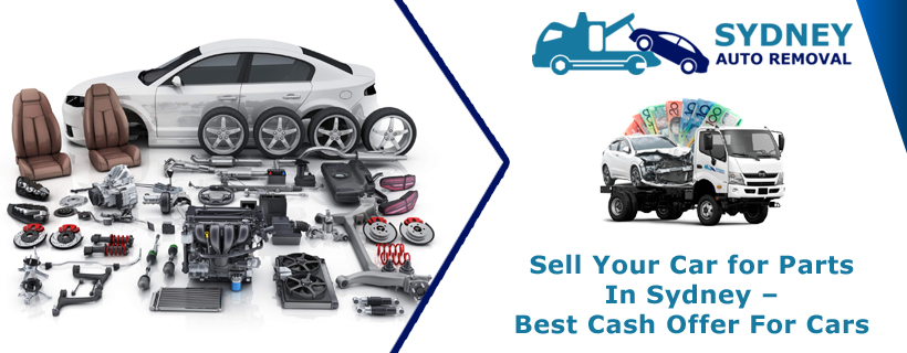 Sell Your Car for Parts In Sydney